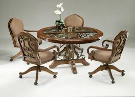 kitchen table chairs with wheels kitchen ideas lovable kitchen table pertaining to the most amazing as well as lovely kitchen table chairs with wheels