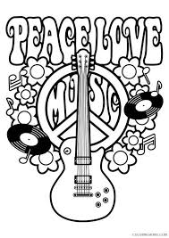 Small Picture printable peace sign coloring pages Coloring4free Coloring4Freecom