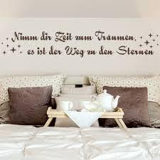 Wandtattoo Spruch Wandspruch Träumen Swarovski Wohnzimmer