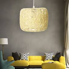 E27 Moderne Hanglamp Touw Plafondlamp Kroonluchter Home Armatuur