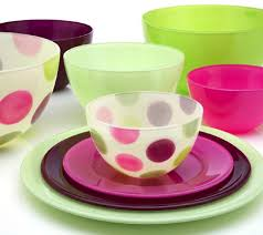 kavalierglass of north america inc presents a line of bright colorful glass tableware love plates and love shakes by walther glass of germany
