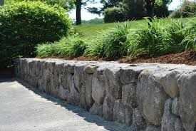 cool natural stone retaining wall ideas garden lilyweds more images of