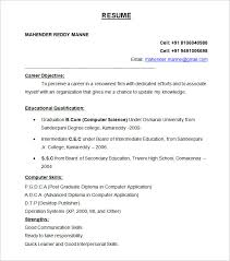 Resum 19 View Sample Resume And Free Templates
