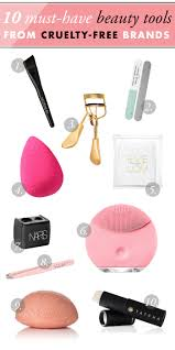 10 must have beauty tools from free brands
