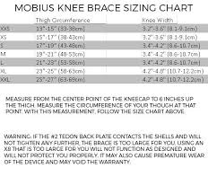 Evs Knee Brace Size Chart Mobius X8 Knee Brace Pair Color Whiteacid Yellow Size M
