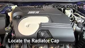 coolant flush how to chevrolet impala 2006 2016 2008 6 radiator cap remove the radiator cap before draining
