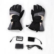 WARMSPACE Heated Gloves <b>2x 3600MAH</b> Electric Warm Gloves ...