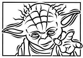 Small Picture Yoda Coloring Page olgusacom