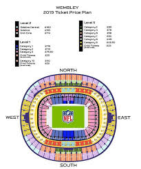 Oakland Raiders Seating Chart 2019 Nfl London Tickets 2019 How Much Do They Cost When Are