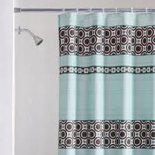 curtain blue brown curtains and window shower curtain sets light mainstays dimitri fabric 95 stunning