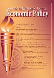American Economic Journal: Applied Economics cover