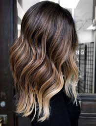 35 brown hair with blonde highlights