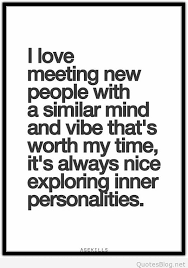 Meeting New People Quotes Unique I Love Meeting New People Quote