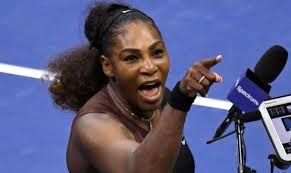 「Serena Williams angry 」の画像検索結果