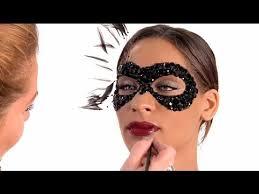 makeup masquerade mask tutorial by julianne kaye