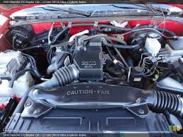 similiar 93 2 2 chevy s10 engine keywords liter ohv 8 valve 4 cylinder engine on the 1998 chevrolet s10 ls