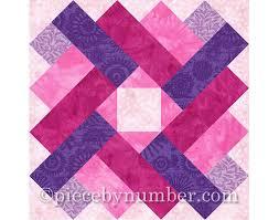 Siena Square quilt block pattern, paper pieced quilt patterns ... & Siena Square quilt block pattern, paper pieced quilt patterns, INSTANT  DOWNLOAD, PDF pattern Adamdwight.com