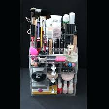 clear acrylic makeup organizer image 0 cube box case amazon aliexpress