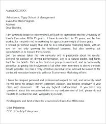 Sample College Recommendation Letter 14 Free Documents