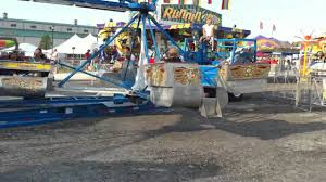 scrambler ride at lake county fair youtube