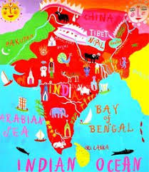 Image result for india map for kids