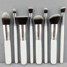 8pcs makeup brushes cosmetics foundation blending