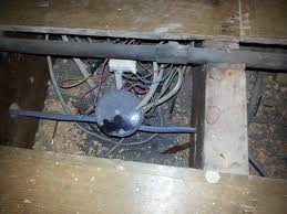 electrical test and inspection dangerous wiring poorly wired junction box