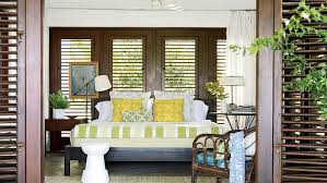 stylish coastal living rooms ideas e2. The Fresh Green And Yellow Linens In This Guest Bedroom On Vieques Island, Puerto Rico Stylish Coastal Living Rooms Ideas E2