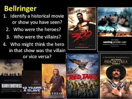 pancho villa pancho villa bellringer 1 identify a historical movie or show you have seen 2