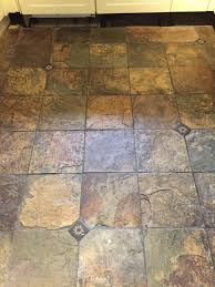 How To Remove Kitchen Tiles Removing Years Of Dirt From Slate Kitchen Tiles Stone Cleaning