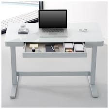 white computer desk. Bell\u0027O Computer Desk/Workcenter With Adjustable Height Feature - White Desk L