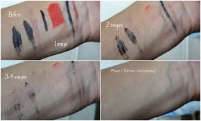 demo on lipstick swatches rimmel eye makeup remover demos