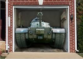 3d effect garage door billboard cover sticker vehicle usa