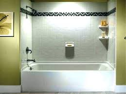 menards shower surrounds charming shower surrounds bathtubs