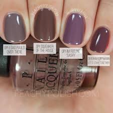Opi Fall Nail Designs Opi Squeaker Of The House Washington D C Collection
