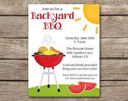 Barbeque Invitation Bbq Invitation Bbq Invite Barbecue Invitation Barbeque Etsy