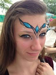 by gina niemi facepaint idea for teens and festivals
