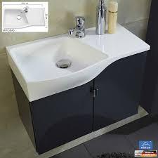 Marlin 3010 Badmöbel Als Waschtisch Set Gästebad 60 Cm Mineralmarmor