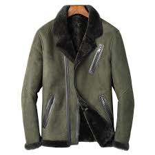 2019 luxury natural shearling mens jacket army pilot 100 sheepskin genuine leather winter wool lining biker coat from tielian 696 1 dhgate com