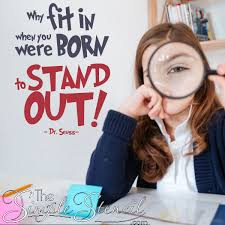 born to stand out dr seuss wall e decal sticker for decorating childs room library