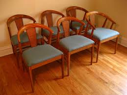 image of midcentury modern furniture dining chairs