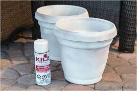 diy paint plastic flower pots make beautiful painted lace decoupage plant pots