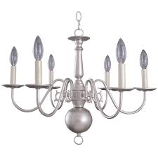 williamsburg light silver chandelier  free shipping today
