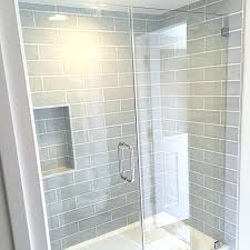 gallery of gray subway tile shower best ideas on large outstanding grey bathroom 11