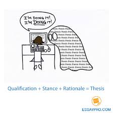 follow this formula qualification stance rationale and follow this formula qualification stance rationale and finish your thes