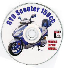 gy6 50cc 150cc chinese scooter moped service owners manual Scooter Engine Diagram chinese scooter 150cc gy6 service repair shop manual on cd hitong kasea kait vip
