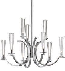 eurofase 25634 013 cromo polished chrome 9 light chandelier undefined