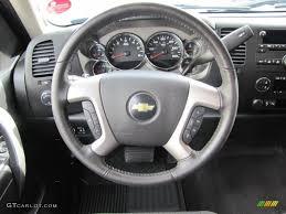 2010 Chevrolet Silverado 2500HD LT Extended Cab 4x4 Ebony Steering ...