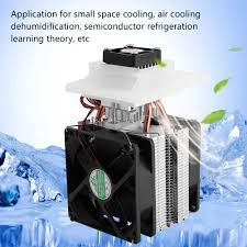 12v 72w thermoelectric peltier refrigeration cooler diy single core chiller kit