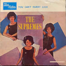 I need love, love to ease my mind i need to find, find someone to call mine. The Supremes You Can T Hurry Love 1966 Vinyl Discogs